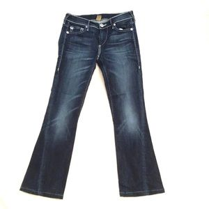 True Religion Becca midrise bootcut jeans.